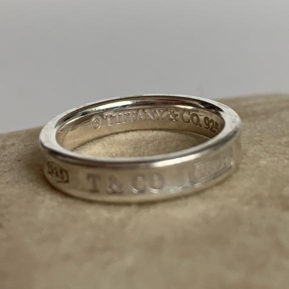 df284855d Tiffany & Co Sterling Silver 1837 Ring size 5.5. M_5cd87b21138e1871b73a6d93